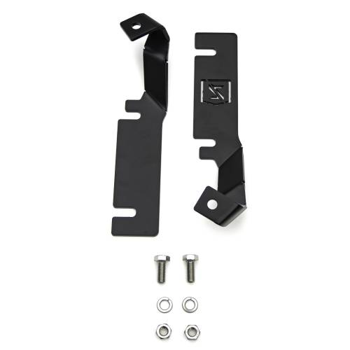 ZROADZ - 2016-2017 Ford Explorer Hood Hinge LED Bracket to mount (2) 3 Inch LED Pod Lights - PN #Z366641 - Image 7