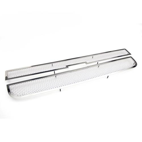 T-REX Grilles - 2003-2021 Express Van Upper Class Series Main Grille, Polished, 2 Pc, Overlay - PN #54126 - Image 2
