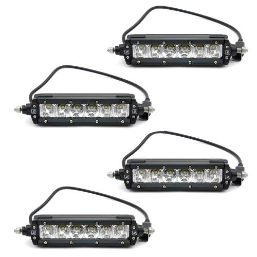 """T-REX Grilles - 2015-2017 F-150 Revolver Grille, Black, 1 Pc, Replacement with (4) 6"""" LEDs, Does Not Fit Vehicles with Camera - PN #6515731 - Image 3"""