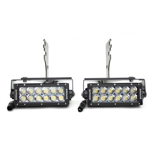 ZROADZ OFF ROAD PRODUCTS - 2016-2021 Toyota Tacoma Rear Bumper LED Kit with (2) 6 Inch LED Straight Double Row Light Bars - PN #Z389401-KIT - Image 14