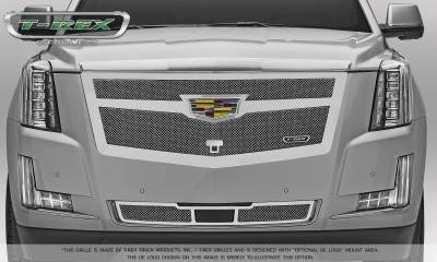 T-REX Grilles - 2015-2015 Escalade Upper Class Series Main Mesh Grille, Chrome, 1 Pc, Replacement - PN #56183 - Image 2