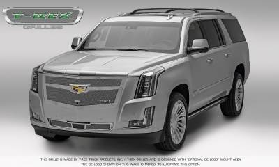 T-REX Grilles - 2015-2015 Escalade Upper Class Series Main Mesh Grille, Chrome, 1 Pc, Replacement - PN #56183 - Image 3