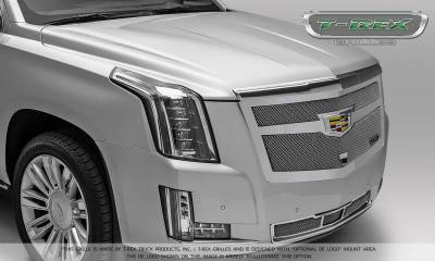 T-REX Grilles - 2015-2015 Escalade Upper Class Series Main Mesh Grille, Chrome, 1 Pc, Replacement - PN #56183 - Image 5