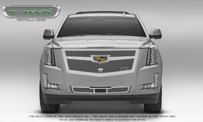 T-REX Grilles - 2015-2015 Escalade Upper Class Series Main Mesh Grille, Chrome, 1 Pc, Replacement - PN #56183 - Image 6