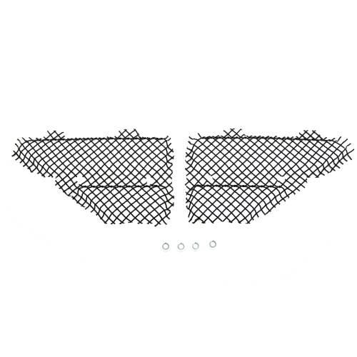 T-REX Grilles - 2008-2010 Super Duty T1 Side Vent Mesh, Black, 2 Pc, Bolt-On - PN #115641 - Image 3