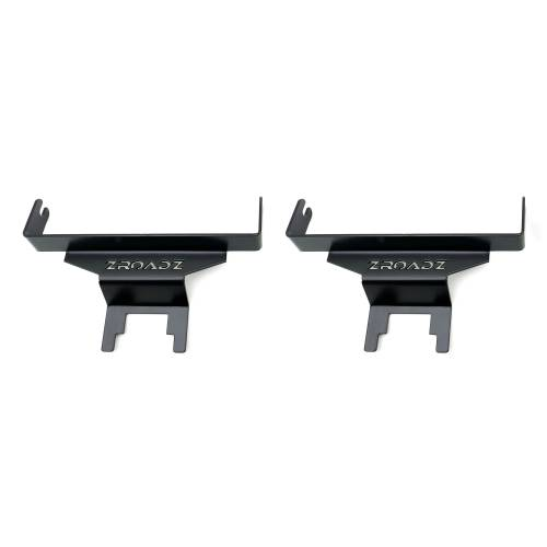 ZROADZ OFF ROAD PRODUCTS - 2018-2021 Jeep JL Rear Window LED Kit with (2) 6 Inch LED Straight Single Row Slim Light Bars - PN #Z394941-KIT - Image 6